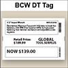 BCW DT Tag 4.00 X 6.00 - 1