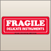 1.50 X 4.00 Fragile - Delicate Instruments [SG-075]