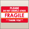 3.00 X 5.00 Fragile - Do Not Double Stack [SG-330]