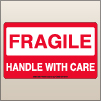 3.00 X 5.00 Fragile - Handle With Care [SG-360]