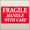 3.00 X 5.00 Fragile - Handle With Care [SG-375]