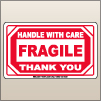3.00 X 5.00 Fragile - Handle With Care [SG-390]
