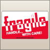 3.00 X 5.00 Fragile - Handle With Care [SG-405]