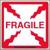 4.00 X 4.00 Fragile [SG-610]