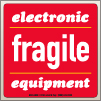 4.00 X 4.00 Fragile - Elec Equipment [SG-640]