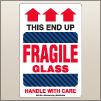 4.00 X 6.00 Fragile - Glass [SG-805]