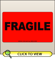 3.00 X 5.00 Fragile [FR-315]