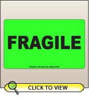 3.00 X 5.00 Fragile [FG-330]