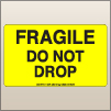 3.00 X 5.00 Fragile - Do Not Drop [FY-375]