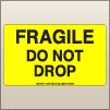 3.00 X 5.00 Fragile - Do Not Drop [FY-375]