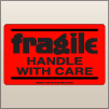 3.00 X 5.00 Fragile - Handle With Care [FR-425]