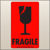 3.00 X 5.00 Fragile - Cracked Glass [FR-455]