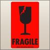 3.00 X 5.00 Fragile - Cracked Glass [FR-455]