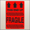 4.00 X 6.00 Fragile - This End Up [FR-610]