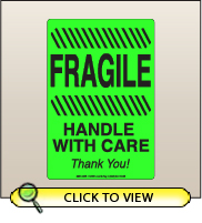 4.00 X 6.00 Fragile - Handle With Care [FG-625]