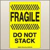 4.00 X 6.00 Fragile - Do Not Stack [FY-685]