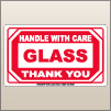 3.00 X 5.00 Glass - Handle With Care [SG-575]