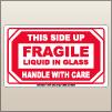 3.00 X 5.00 Fragile - Liquid In Glass [SG-605]