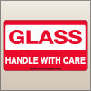 3.00 X 5.00 Glass - Handle With Care [SG-620]