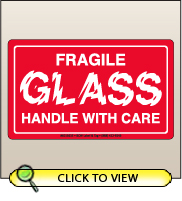 3.00 X 5.00 Glass - Fragile [SG-635]