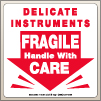 4.00 X 4.00 Delicate Instruments - Fragile [SG-435]
