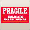3.00 X 5.00 Fragile - Delicate Instruments [SG-540]