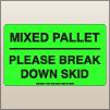 3.00 X 5.00 Mixed Pallet - Break Down [FG-430]