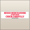 2.00 X 8.00 Mixed Merchandise [SG-825]