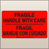 3.00 X 5.00 Fragile - Handle With Care [FR-345]