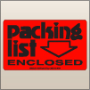 3.00 X 5.00 Packing List Enclosed [FR-110]