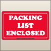 3.00 X 5.00 Packing List Enclosed [SG-425]