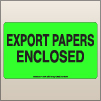 3.00 X 5.00 Export Papers Enclosed [FG-565]