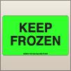 3.00 X 5.00 Keep Frozen [FG-615]