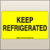 3.00 X 5.00 Keep Refrigerated [FY-645]