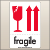 4.00 X 6.00 Fragile - Arrow Up [SG-670]