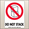 3.00 X 4.00 Do Not Stack [SG-345]