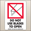 3.00 X 4.00 Do Not Use Blades To Open [SG-495]