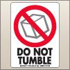 3.00 X 4.00 Do Not Tumble [SG-510]