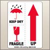 3.00 X 4.00 Fragile - Keep Dry - Up [SG-525]
