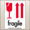 3.00 X 4.00 Fragile - Arrow Up [SG-540]