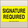 3.00 X 5.00 Signature Required [FY-675]