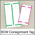 BCW Consignment Tag