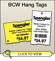 BCW DT Tag 4.00 X 3.00 - 3