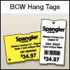 BCW DT Hang Tag 2.25 X 1.375 - 1