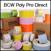 BCW Poly Pro Direct 4.00 X 1.00 - 3