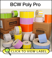 BCW Poly Pro 2.50 X 1.00 - 1