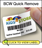 BCW Quick Remove 2.00 X 1.25 - 1