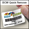 BCW Quick Remove 2.25 x 1.25 - 1