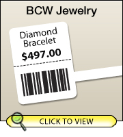 BCW DT Rat Tail Jewelry 3.00 X 1.00 - 1
