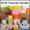 BCW Thermal Transfer 2.25 X 1.25 Split - 1